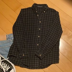 Brandy Melville Flannel Plaid Shirt